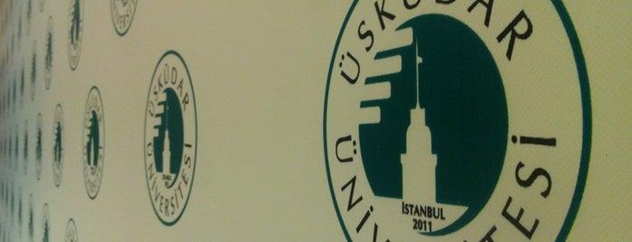 Üsküdar Üniversitesi is one of İstanbul'daki Üniversite ve MYO'ların Kampüsleri.
