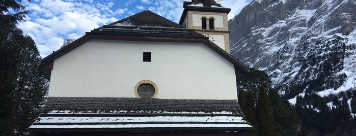 Kirche Grindelwald is one of The #AmazingRace 22 map.
