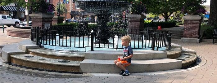 LaGrange Village Hall Fountain is one of Fun w Friends.