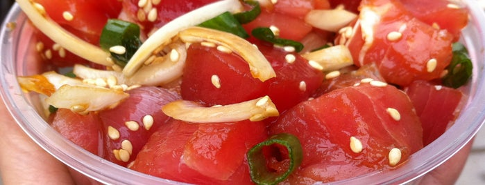 Poke-Poke is one of LA healthy.
