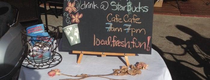 Cafe Cafe is one of Maui.