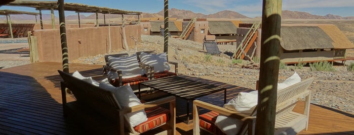kulala desert lodge is one of Tempat yang Disukai Bridget.