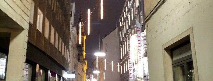 Dorotheergasse is one of Vienna.