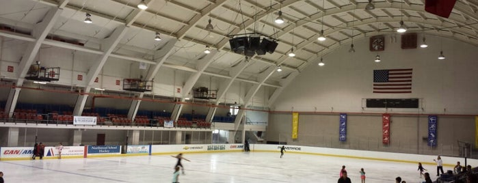 Jack Shea Arena is one of Lake Placid.