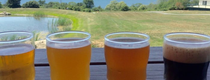 Grist Iron Brewing Company is one of NY Wine Trails.