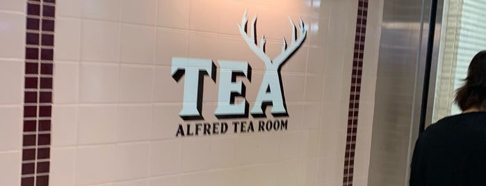 ALFRED TEA ROOM is one of 紅茶がおいしいリスト.