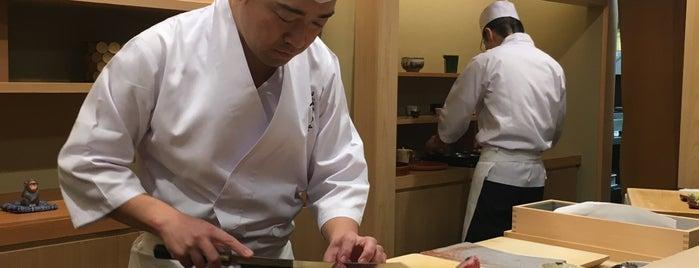 Sushi Sugita is one of Tokyo Sushi.