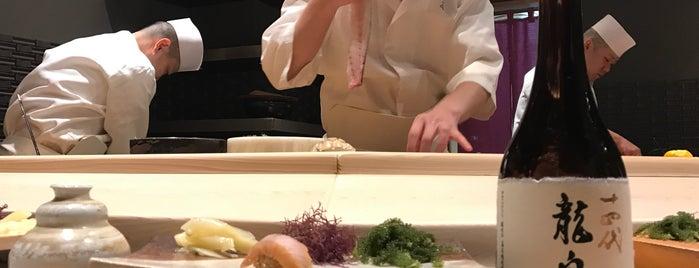 Sushisho Saito is one of Tokyo Sushi.