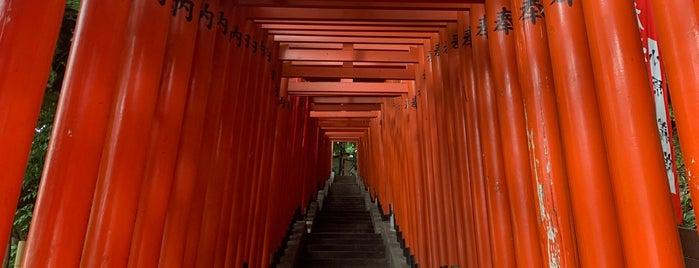 山王日枝神社 稲荷参道 is one of 神輿で訪れた場所-1.