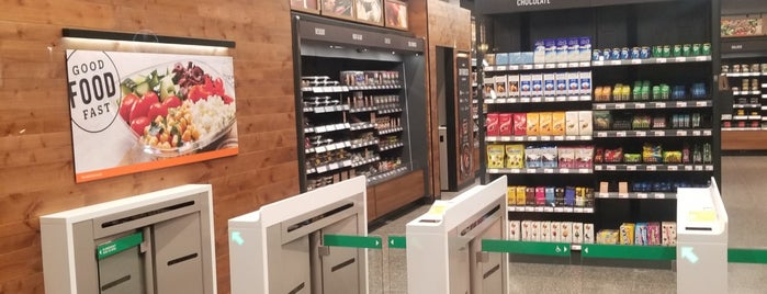 Amazon Go is one of California Trip Plan.
