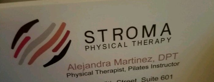 Stroma Physical Therapy & Training is one of Locais curtidos por Marina.