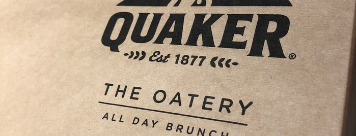 Quaker The Oatery is one of Restaurantes.