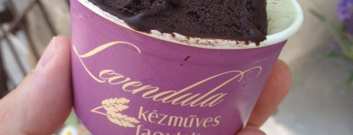 Levendula Fagylaltozó is one of Cukrászda.