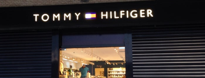 Tommy Hilfiger is one of Bursa.