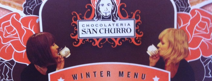Chocolateria San Churro is one of Tempat yang Disukai El Micho.