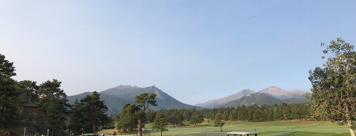Estes Park Golf Course - 18 hole is one of Tempat yang Disukai Bryon.