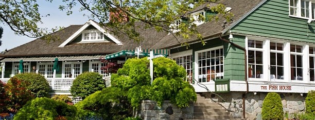 The Fish House in Stanley Park is one of Dine Out Vancouver Festival 2013.