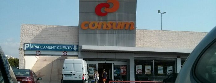 Consum is one of สถานที่ที่ Ленка ถูกใจ.