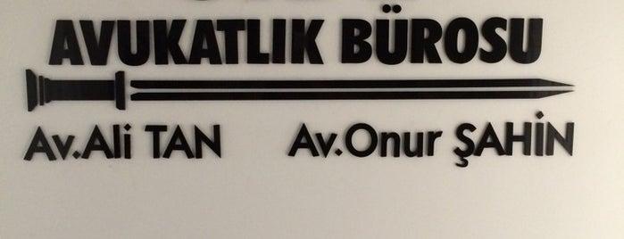 SİDE AVUKATLIK BÜROSU(Av.ALİ TAN&Av.ONUR ŞAHİN) is one of Yılmazさんのお気に入りスポット.