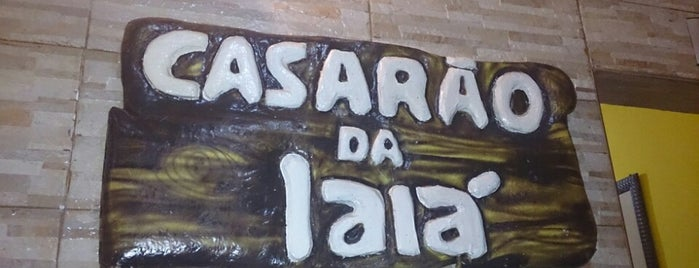 Casarão da Iaiá is one of Restaurante.