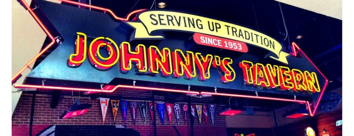 Johnny's Tavern is one of Tony's Liked Places.