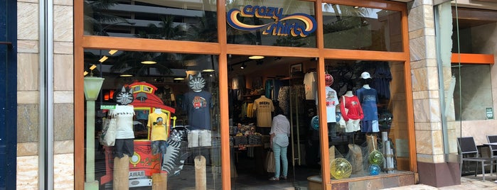 Waikiki Beach Walk Crazy Shirts is one of Lugares favoritos de Hideo.