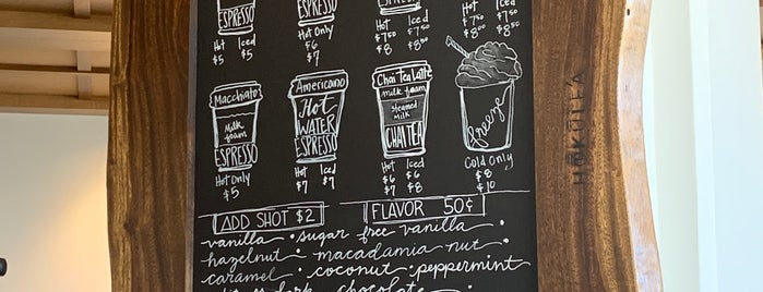 Hokulea Coffee Bar is one of Tempat yang Disukai Athena.