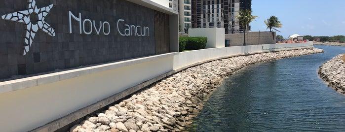 Novo Cancun Beach Marina & Golf Resort is one of Orte, die Fabrizio gefallen.