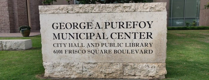 George A Purefoy Municipal Center is one of Tryout these places ....