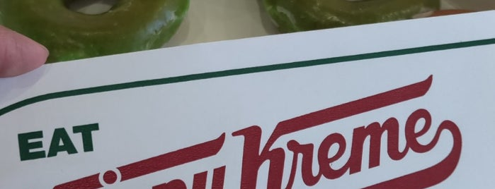 Krispy Kreme Doughnuts is one of สถานที่ที่บันทึกไว้ของ Anthony.