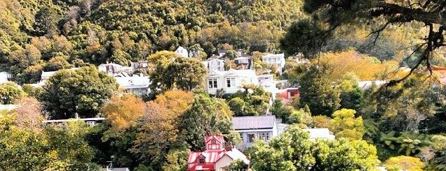 Wellington Botanic Garden is one of Jas' favorite urban sites.
