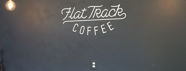 Flat Track Coffee is one of Austin.
