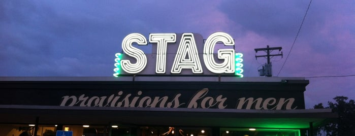 Stag is one of Austin.