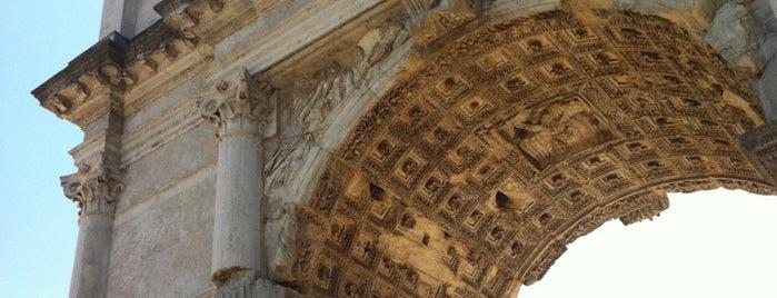 Arco de Tito is one of Supova in Roma.