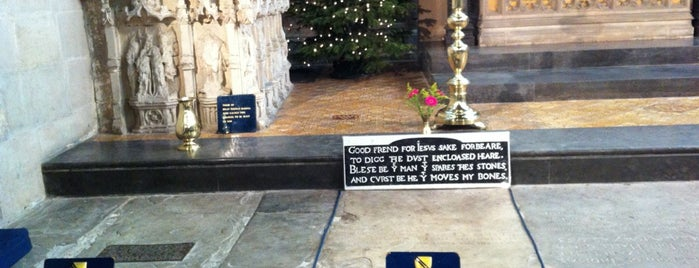 Shakespeare's Grave is one of reviews of museums, historical sites, & landmarks.