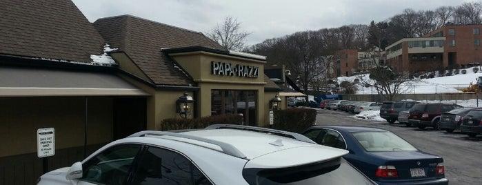 Papa Razzi Trattoria & Bar is one of Sushama's Liked Places.