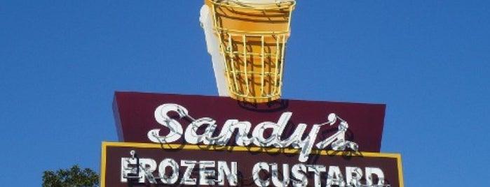 Sandy's Hamburgers is one of Austin my way.