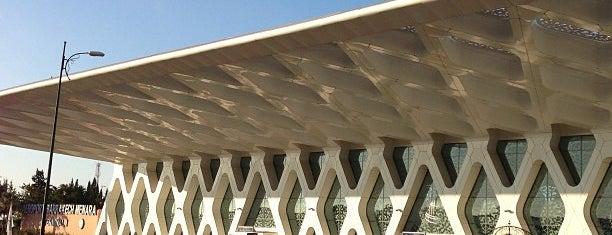 Marrakech Menara Airport (RAK) is one of Airports (around the world).