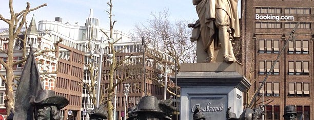 Rembrandtplein is one of The Netherlands.