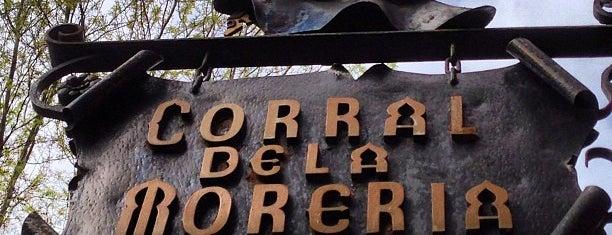 Corral de la Morería is one of Estrellas Michelin Madrid y alrededores 2021.