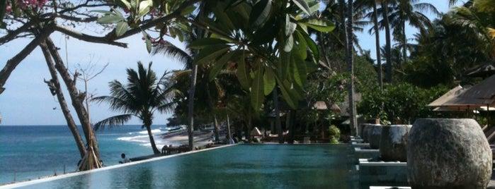 Quinci Villa Swimming Pool is one of Tempat yang Disukai Kathleen.