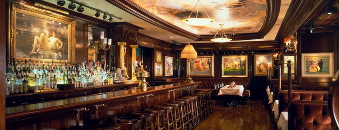 "Old Ebbitt Grill is one of ""Hail, Columbia, happy land...""."