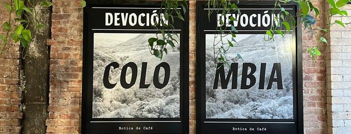 Devoción is one of Coffee NYC.