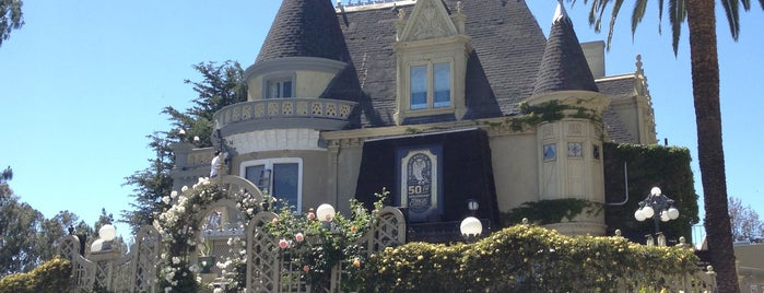 The Magic Castle is one of La to sf.