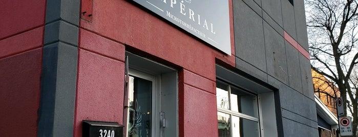 Café Impérial Microtorréfacteur is one of Cafés-torréfacteurs Montréal.