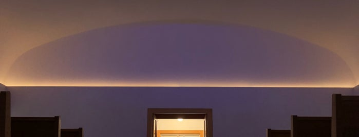 Live Oak Friends Meeting House is one of James Turrell World Tour.
