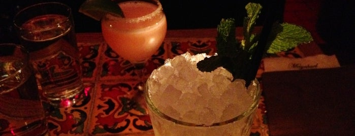 Mayahuel is one of NYC serious drinks.