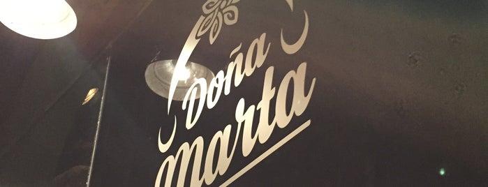 Doña Marta is one of Eugenia'nın Beğendiği Mekanlar.