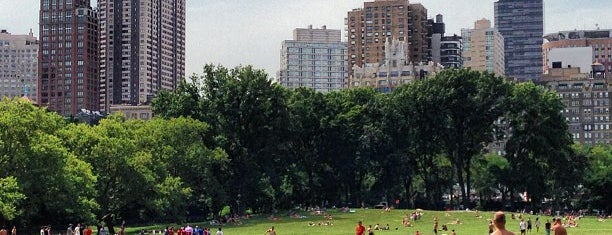 Sheep Meadow is one of NY.