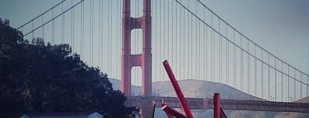 Mark di Suvero at Crissy Field is one of San Fran!!!.